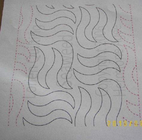 quilting design - how about the Violet  Flame ?!