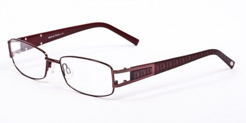 A simple but yet a modern look . This robust frame has rectangular shaped lenses with rounded edges and soft adjustable nose pads. Suitable for both Bifocals and Varifocals. We also recommend an Anti-Glare coating.