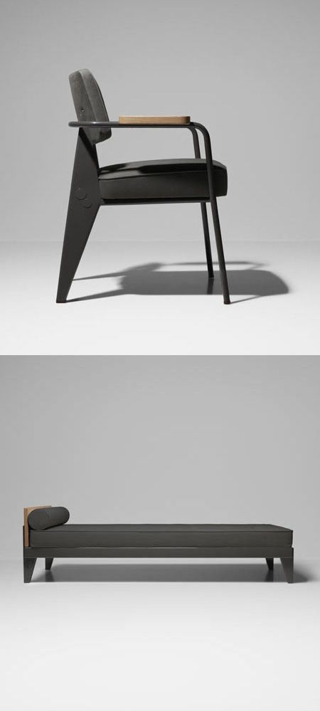 Special Edition furniture collection of nine classics by Jean Prouvé, remixed by G-Star RAW for Vitra.