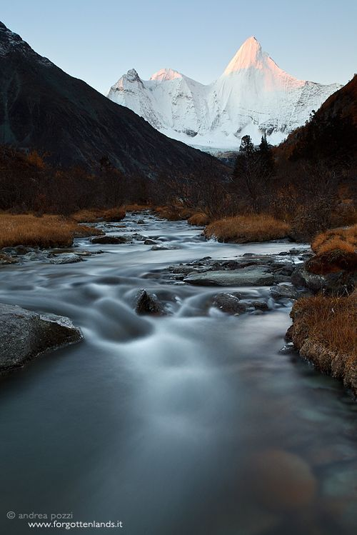 Yading Nature Reserve, Sichuan, China  by Andrea Pozzi