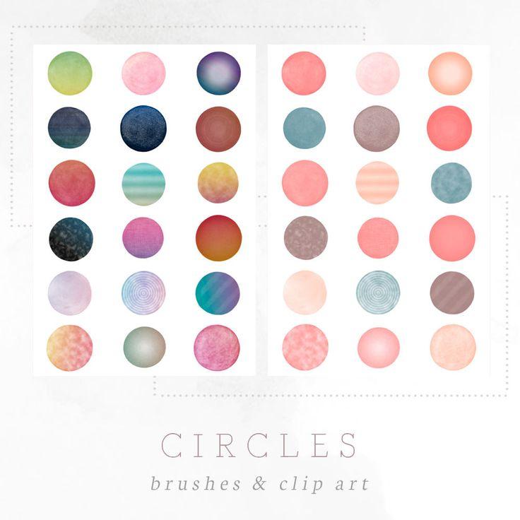 Circles - Free Photoshop Brushes & Clip Art