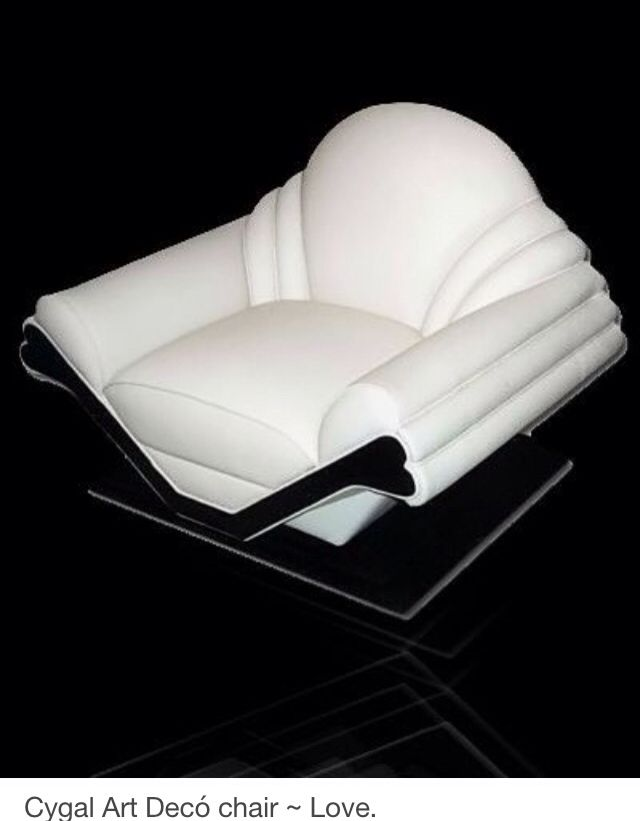 This kind of furniture can bring you to a different time and place! Art Deco