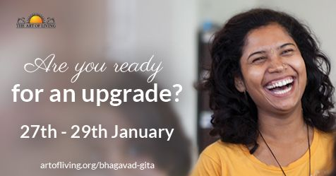 Are you ready for an upgrade? Sharpen your intellect, make smarter decisions and deepen your spiritual practice by learning practically applicable lessons from the Bhagavad Gita. Register today to watch a Live commentary on Bhagavad Gita's Chapter 12 by Gurudev Sri Sri Ravi Shankar  #BhagavadGita #BhagvadGita #BhagawadGita #BhagwadGita #Gita #BhaktiYoga #Bhakti #Yoga