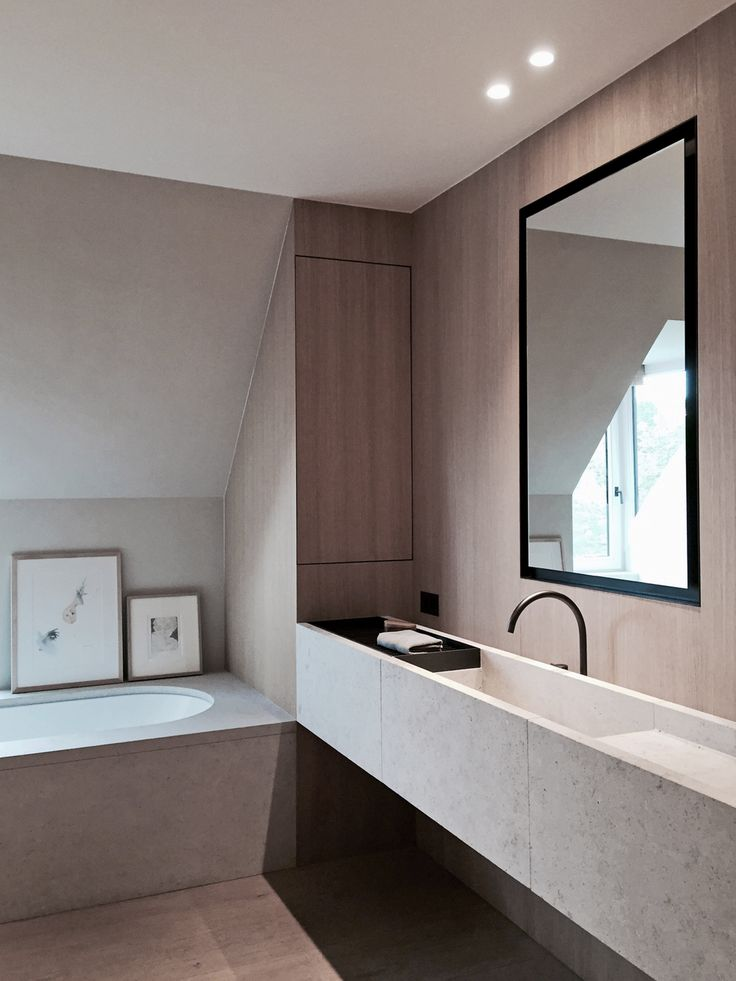 VOLA Taps and Showers in Black BATHROOM