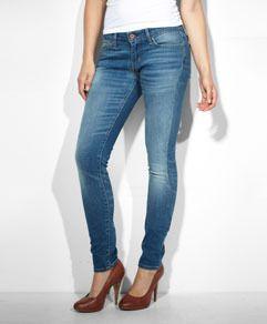 Modern Rise Demi Curve Skinny Jeans - Medium Bleach - Levi's - levi.com