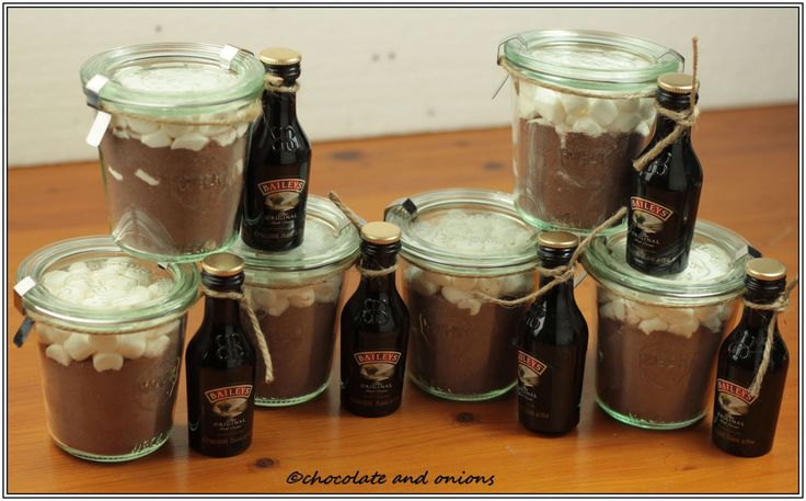 Heiße Schokolade Mix  (Hot Chocolate Mix) - Geschenke aus dem Glas 8... Crash, Boom, Bang...