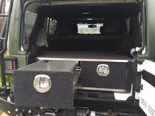 jeep jk wrangler drawers