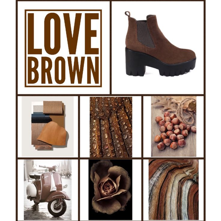 Brown palette