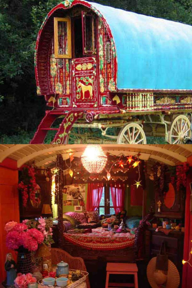 Gypsy Caravan Interior Design - Home Decorating Ideas