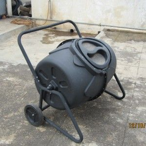 Recycle your vegetable scraps into a nutritious fertilizer for your vegetable and flower gardens with the Composter.