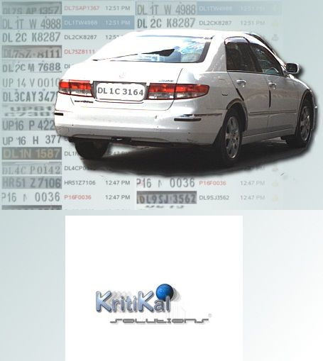KritiKal offers Automatic Number Plate Recognition System helps the traffic authorities to detect the number plates of both moving and the stationery vehicles.