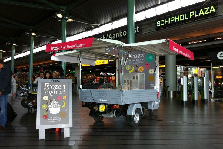 Frozz piaggio op Schiphol