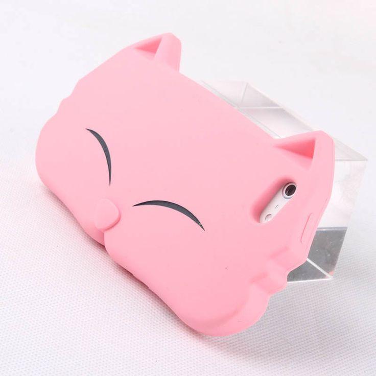 Cute Cartoon KiKi Cat Soft Cover Case For Iphone 4/4s