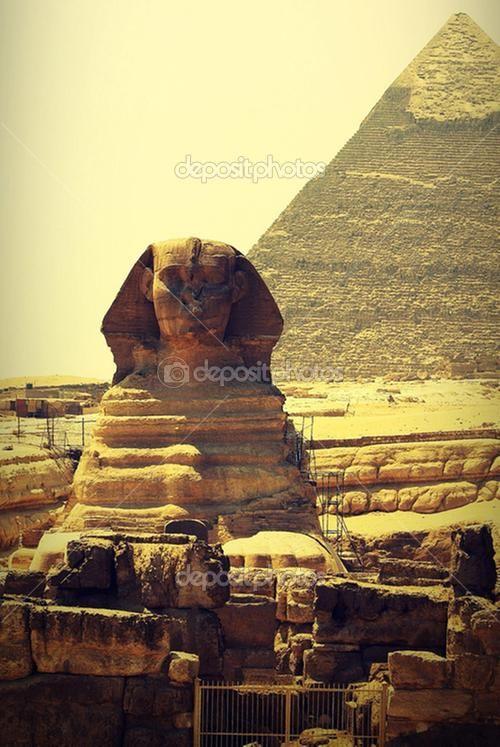 The Sphinx, #Cairo - #Egypt