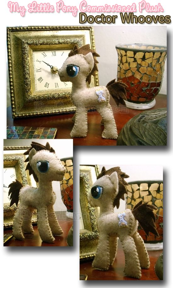 Doctor Whooves Plush