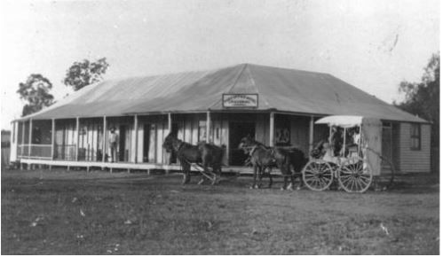 Eidsvold Post Office Hotel. photo not dated. SLQ