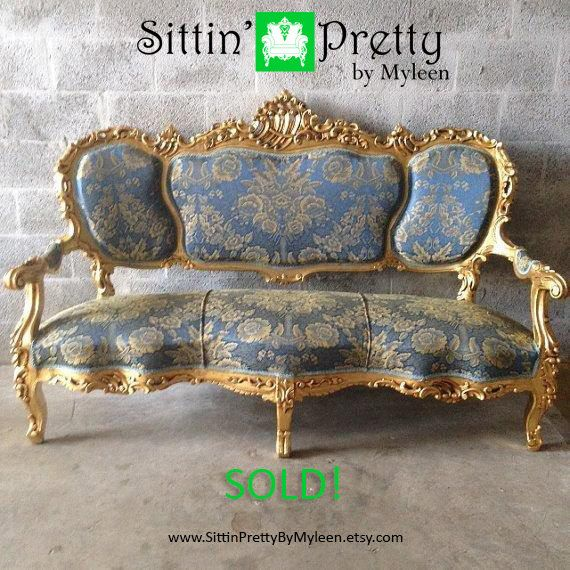 37 best Antique Settees \ Sofas images on Pinterest Canapes - barock mobel versailles sofa