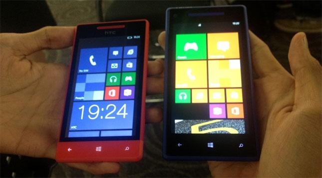 Dua Ponsel Windows Phone 8 Dari HTC Segera Hadir Di Indonesia