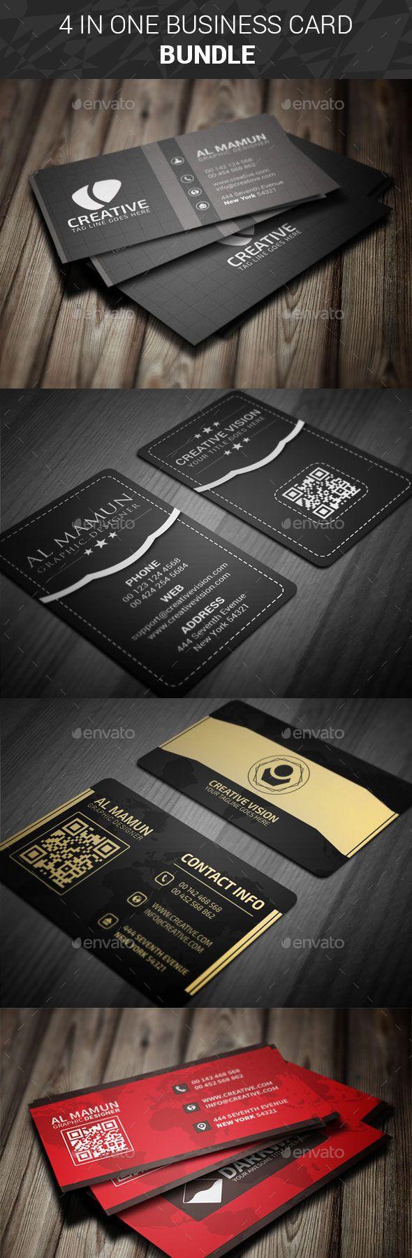 1676 best best business cards on pinterest images on pinterest business card bundle four in one colourmoves