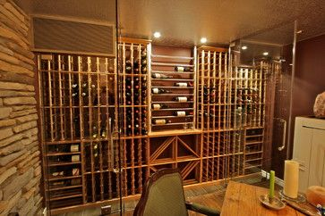 Millesime wine racks are available in 7', 8' and 9' heights, but can also be made to accommodate any ceiling up to 24'. Your custom made Millesime wine rack can be perfectly integrated over the counter of your traditional wine rack.
