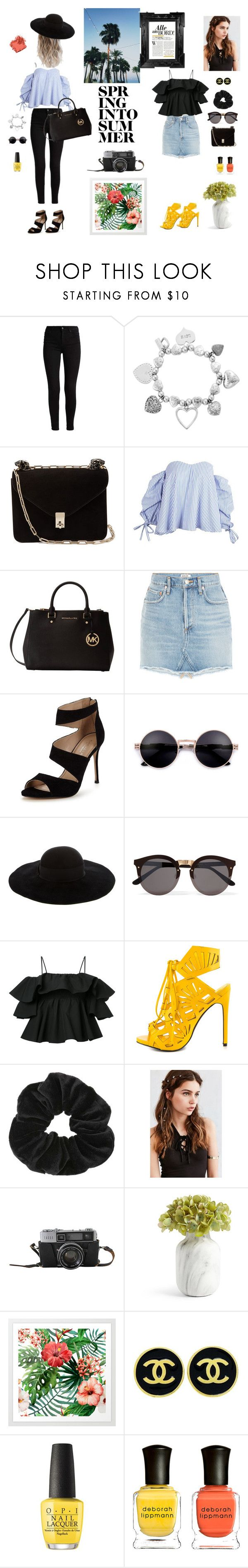 """Trends week 21!"" by linneaha on Polyvore featuring ChloBo, Valentino, Michael Kors, Carvela, Eugenia Kim, Illesteva, MSGM, Privileged, Miss Selfridge and REGALROSE"