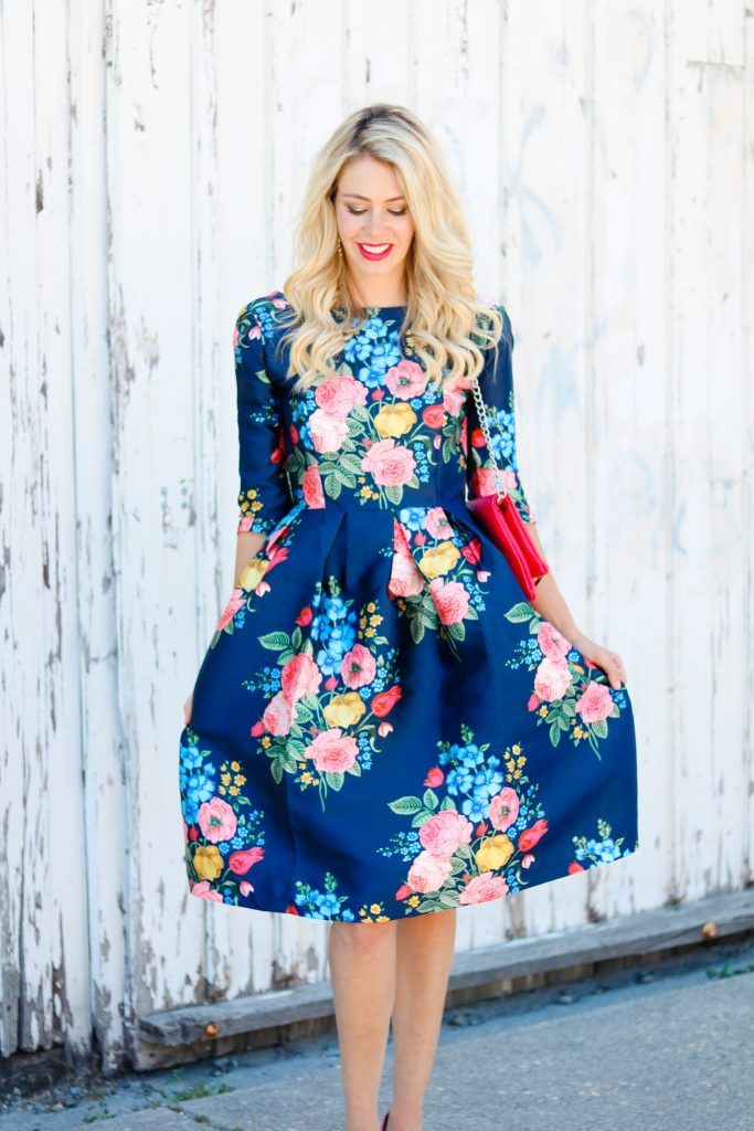 676d7756af38 Summer Garden Party Dress from Chicwish