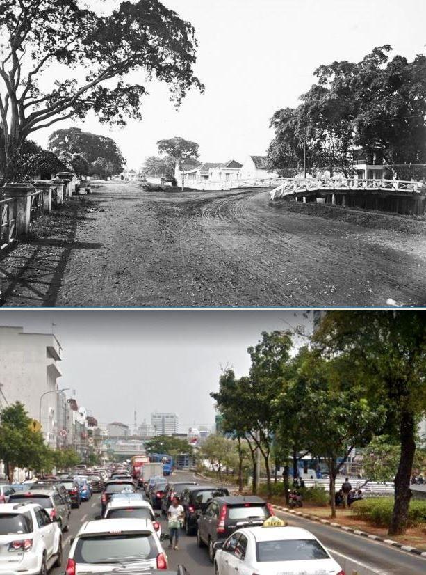 Molenvliet - Oost te Batavia, 1882, ,., jl Hayam Wuruk, Jakarta, 2017