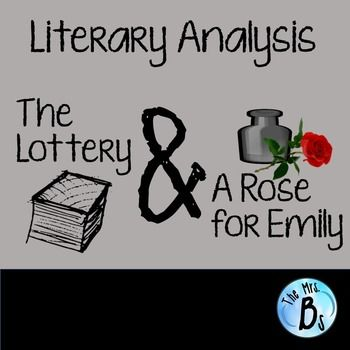 "criticizing the souths culture in a rose for emily by william faulkner William faulkner once said, ""given a choice between grief and nothing, i'd choose grief"" (brainyquote) he further explains why he'd do this in ""a rose for emily"" although the story is."