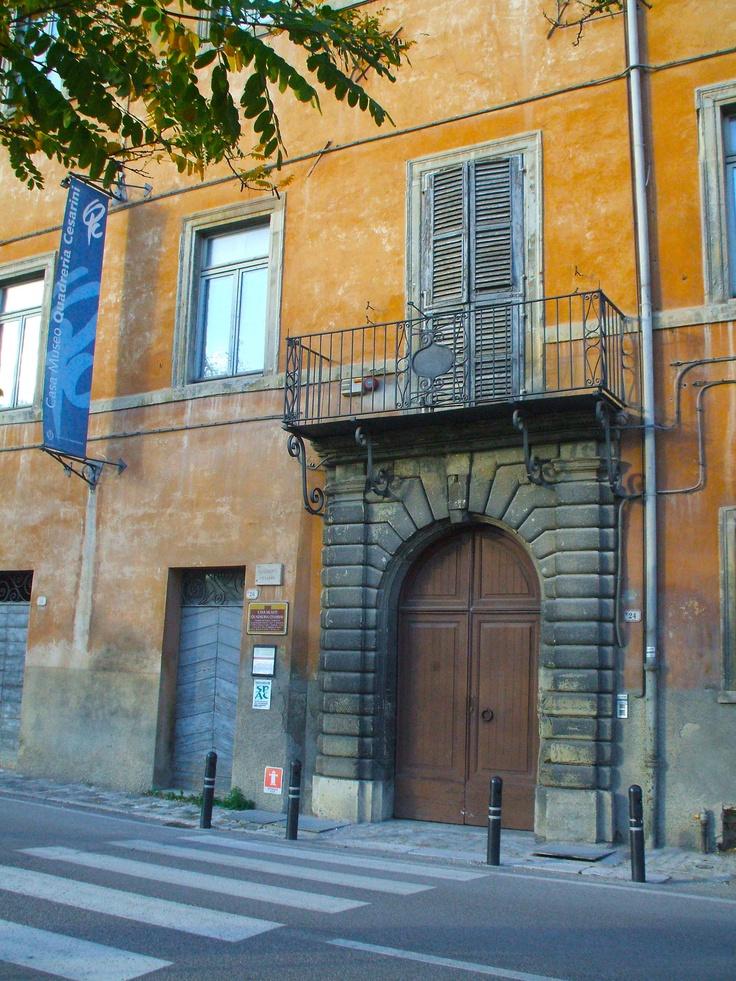 casa-museo quadreria cesarini / ingresso