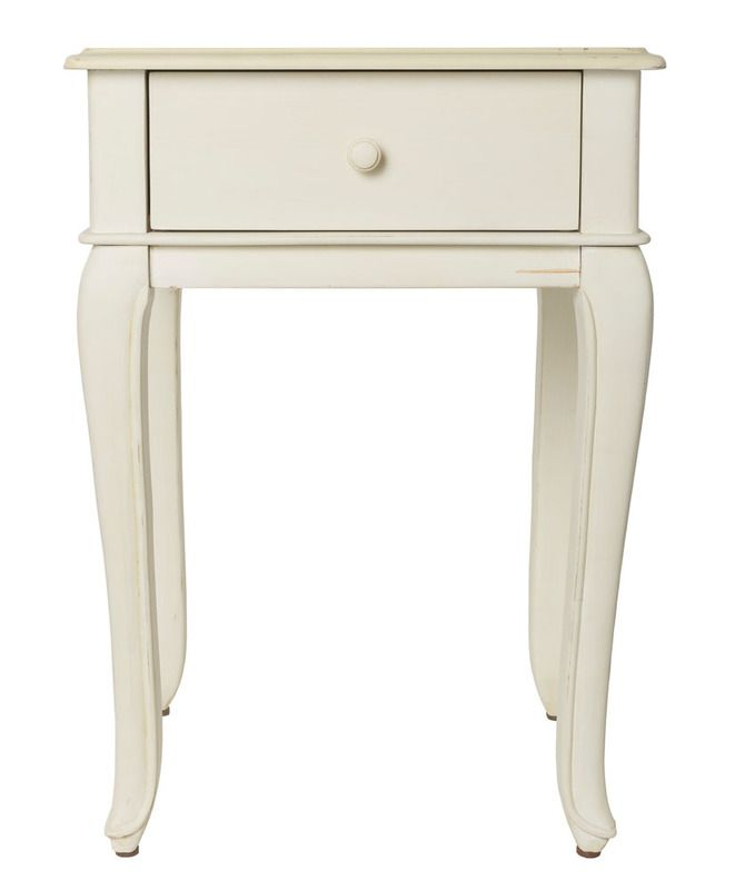A gorgeous French provincial side table - cute and simple
