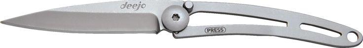 deejo Naked 15g Pocket Knife Steel