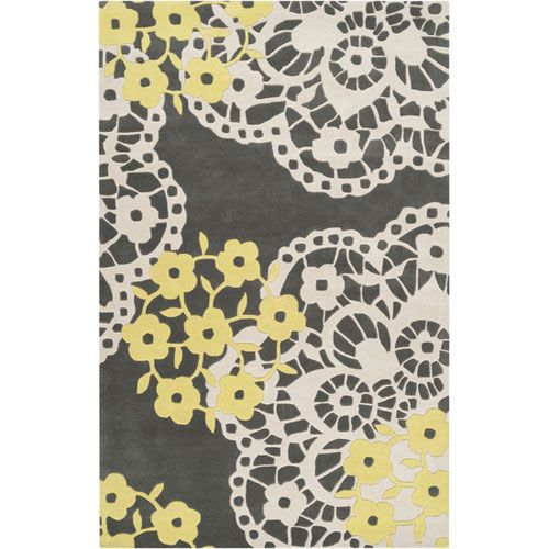 Naya Rug In Yellow And Gray
