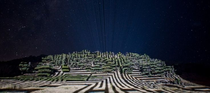 rainbow serpent festival maze projection - Google Search