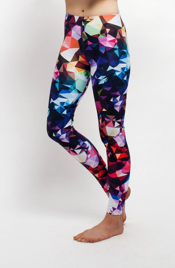 colorful printed yoga leggings by Tulipe Studio on etsy: https://www.etsy.com/listing/210814801/art-leggings-womens-leggings-yoga?ref=shop_home_active_1
