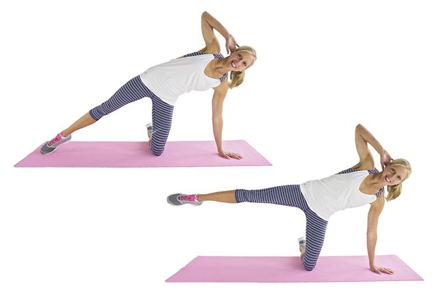 9+Moves+To+Shrink+Your+Muffin+Top+[VIDEO]
