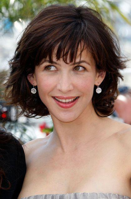 17 best images about sophie marceau on pinterest not - Carre court frange ...