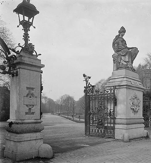 amsterdam vondelpark wegvoetpad, 1914