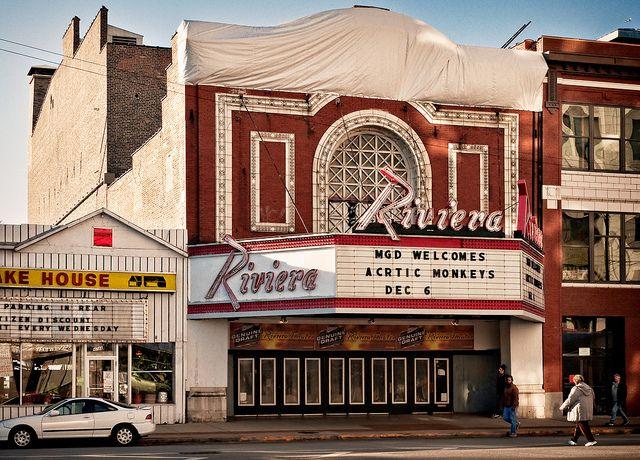 Riviera Theater (1918), 4746 North Racine Avenue, Uptown, Chicago, Illinois, USA by lumierefl, via Flickr