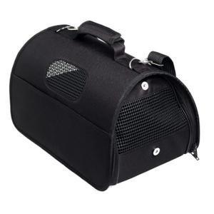 Sac de Transport Chien/Chat ``Urban`` Noir ``L`` - Sac de transport pour chat et petit chien en tissu avec fenêtres. Idéal pour des animaux d'un poids maximum de 8 kg. Grâce à… Voir la présentation