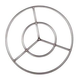firepit rings for glass rocks $74