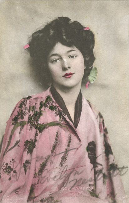 Rudolf Eickemeyer, Jr. ~ Evelyn Nesbit, Posed as The Mikado's Pride1910s