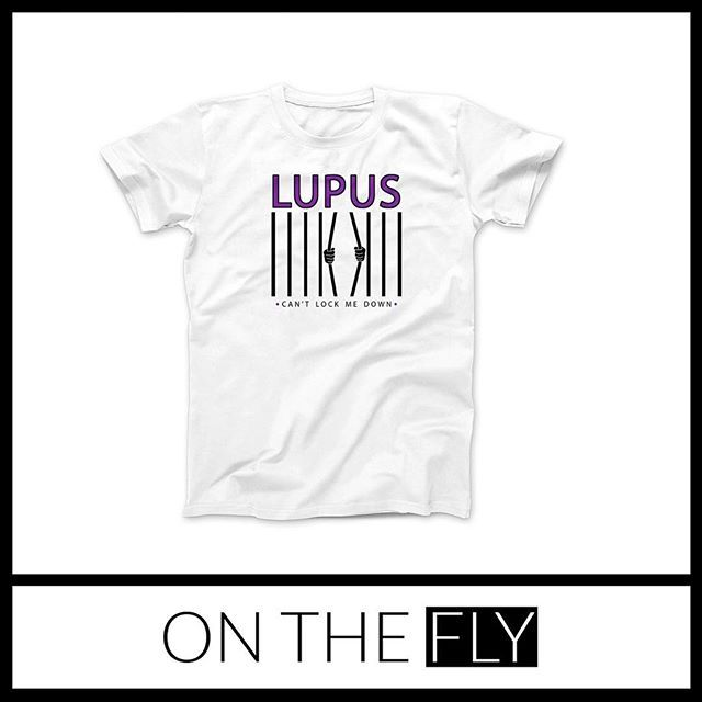 ⋆★⋆ Custom t-shirt design!! 💜⋆★⋆ #OTFdesigns #OnTheFly #OnTheFlyDesigns #GraphicDesign #Design #Graphics #Artwork #Logos #DigitalArt #Branding #SmallBusiness #Love #Follow #ILoveMyJob #TShirt #Shirt #Lupus