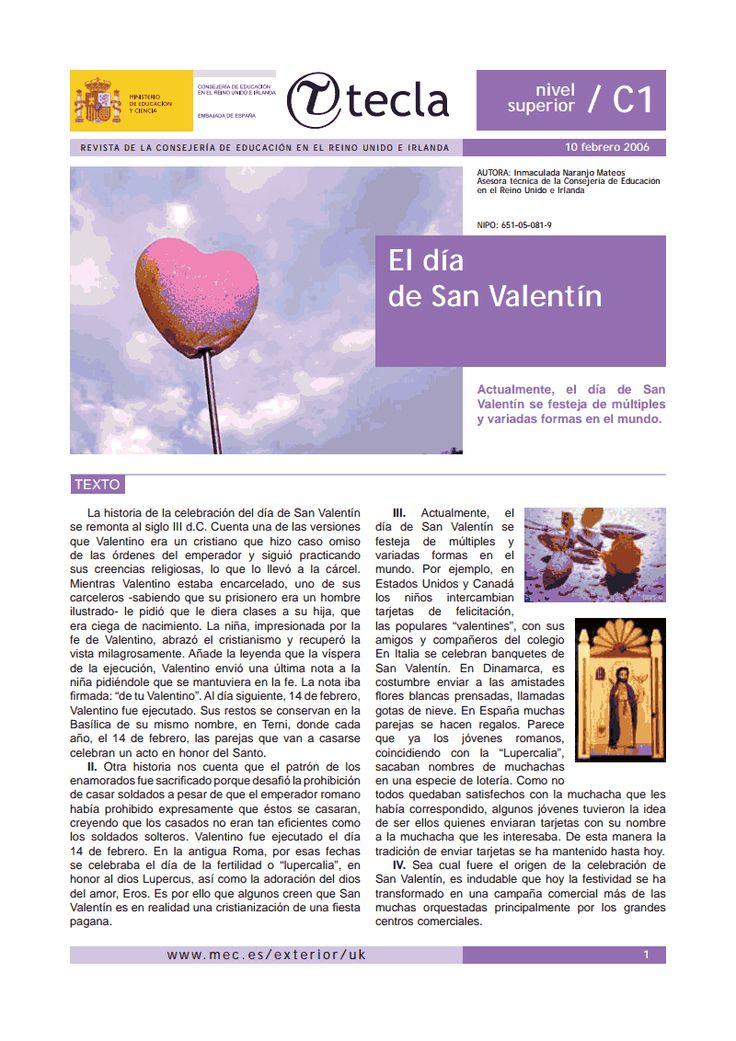 Laurence Charlet » Amor, San Valentin recursos y documentos