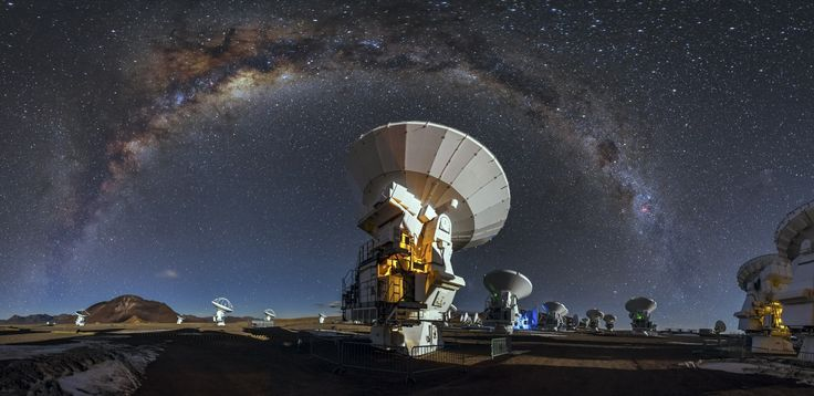 ALMA observatory in Chile wallpapers and images - wallpapers, pictures, photos