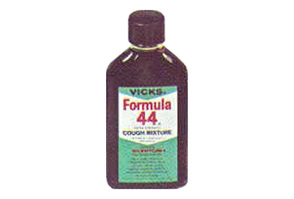 Vicks Formula 44 Cough Mixture BAD STUFF HERE