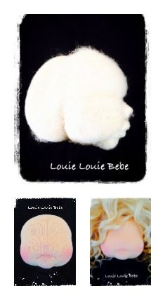 Needle felted waldorf doll, by Louie Louie bebe #Needlefelting