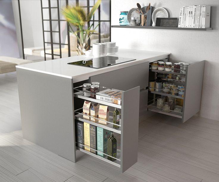 Muebles De Cocina Con Isla Central. Amazing Cocinas Con Isla Central ...