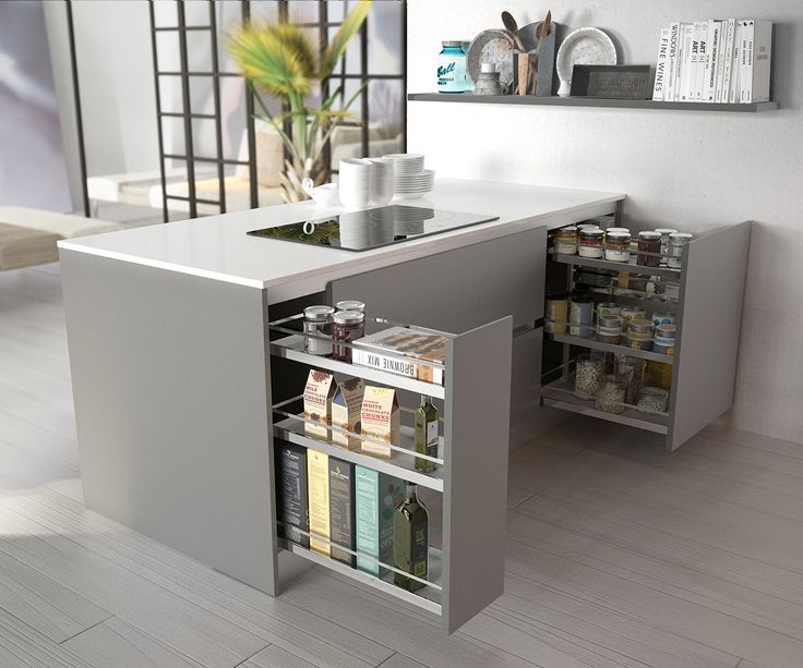Las 25 mejores ideas sobre cocina cuadrada en pinterest y for Muebles de cocina modernos con isla
