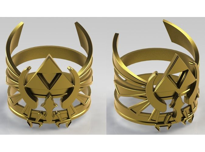 Hylian Crest Ring #Zelda Must have o.o