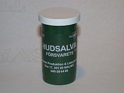 Försvarets hudsalva – Wikipedia